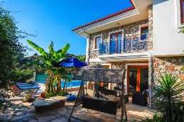 large villa with swimmingpool in marmaris sogut in 500sqm land