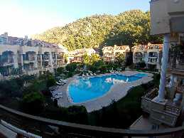 fully furnished 3 + 1 dupleks for rent in marmaris icmeler with pool